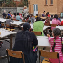 "The first week of the ""Caravan for Roma Children from Satu Mare County"""